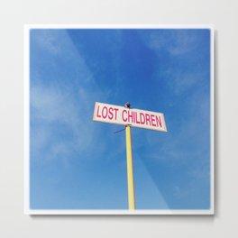 Lost children Metal Print