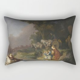 Rembrandt - The Abduction of Europa Rectangular Pillow