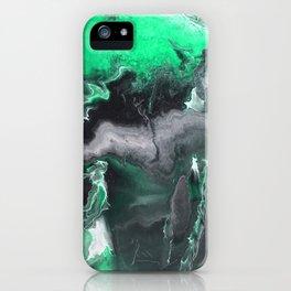 Emerald Lightning iPhone Case