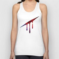 blood Tank Tops featuring Blood by Darkerin Drachen