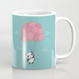 Kawaii Panda In The Sky Coffee Mug