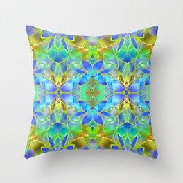 Floral Fractal Art G20 Throw Pillow