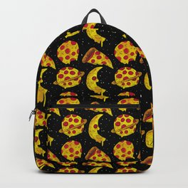 pizza space Backpack