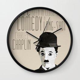 Chaplin Scomposition Wall Clock