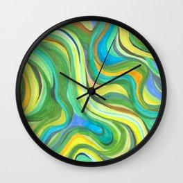 aloe is great for sunburns Wall Clock