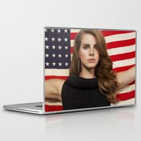 american Laptop & iPad Skins featuring American by Michelle Rosario
