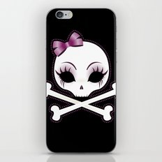 VelusaSkullie iPhone & iPod Skin