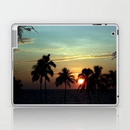 Sunset at Mauna Kea Beach, Hawaii Sky Laptop & iPad Skin