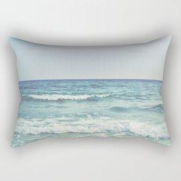 Ocean Crashing Waves Rectangular Pillow