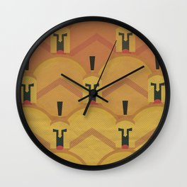 300, movie poster, penguin book version, Frank Miller, graphic novel Wall Clock