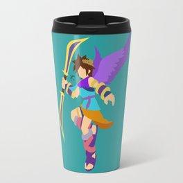 Pit(Smash)Cyan Travel Mug