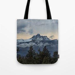 Good Night Mountain Tote Bag