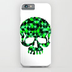 Triangle Camouflage Skull (WITHE) iPhone 6s Slim Case