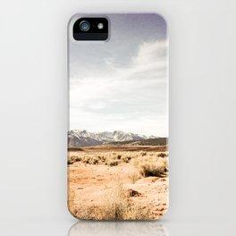 Californian Landscape iPhone Case