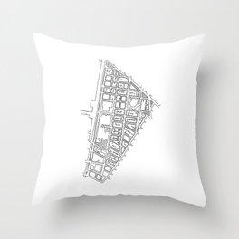 Tribeca, NY Throw Pillow