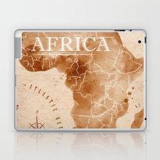 Vintage Africa Map  Laptop & iPad Skin