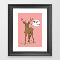 Fight or Flight Framed Art Print