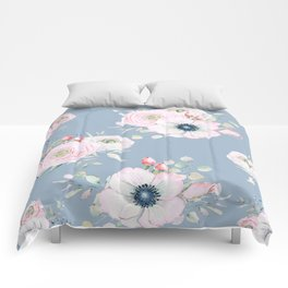 Dog Roses #society6 #buyart Comforters