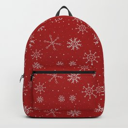 New Year Christmas winter holidays cute pattern Backpack
