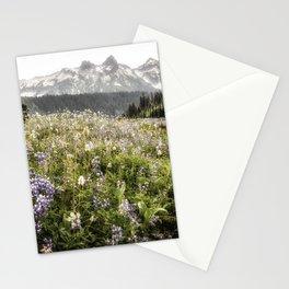 Rainier Lupine Wildflowers Stationery Cards