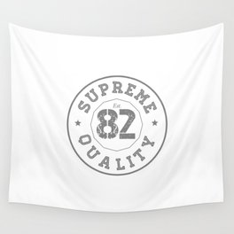 Born in 1982. Logo tshirt  Wall Tapestry