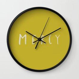 Mercy x Mustard Wall Clock