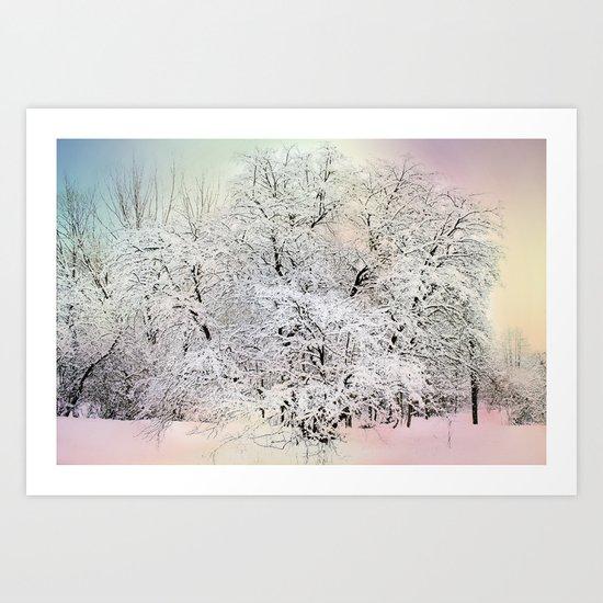 snow dream Art Print