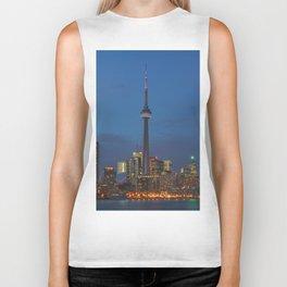 Toronto Skyline Biker Tank
