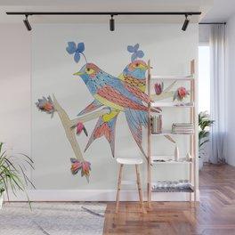 Put a Bird on It Wall Mural