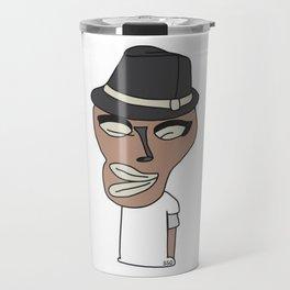 Bed Face Travel Mug