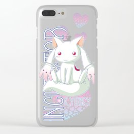 Kyubey Clear iPhone Case