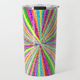 Psychedelic Vortex Travel Mug