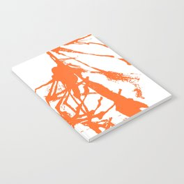 Orange Ink Notebook