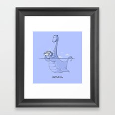 HAPPINESSie Framed Art Print