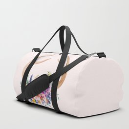 Antlers with Flowers Duffle Bag