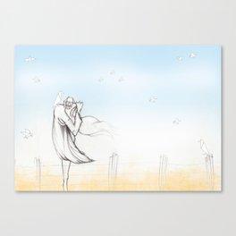 Scaredcrow Canvas Print