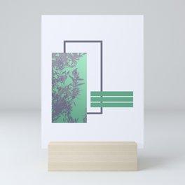 Violet Foliage #society6 #spring Mini Art Print