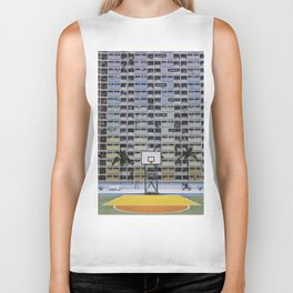 Hong Kong Basketball Biker Tank