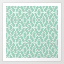 Tiffany's Diamonds Art Print