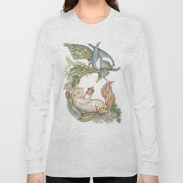 Squirrel and Magpie Long Sleeve T-shirt