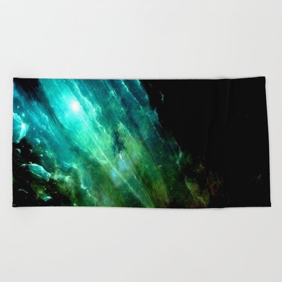 θ Serpentis Beach Towel