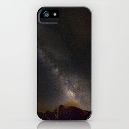 Milky way at 3400 meter hight. Scorpius and Sagitarius iPhone Case