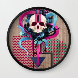 BeautifulDecay II Wall Clock