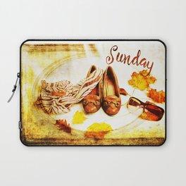 Sunday Shoes Laptop Sleeve