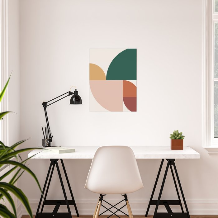 Abstract Geometric 11 Poster