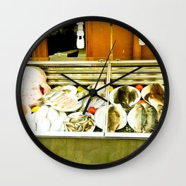 The richest sea. Wall Clock