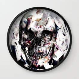 Surga Skull Wall Clock