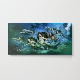 Seven Sirens Metal Print