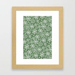 Irish Lace Framed Art Print