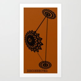 Disconnected Art Print